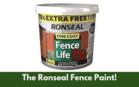 Ronseal Fence Paint Review Ratings Application And Consistency
