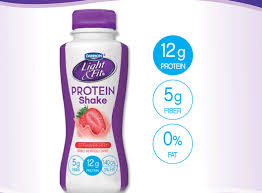 light fit protein shakes