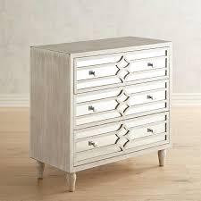 3 drawer mirrored chest