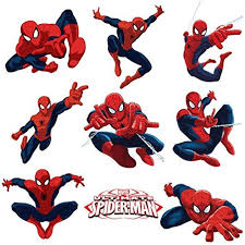 Spiderman Sticker Pack For Kids Room Wall Decor Peel And Stick Wall Decal For Ultimate Spider Man Party Decoration By Dekosh Walmart Com Walmart Com