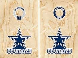 Amazon Com Set Of 17 Cowboys Stickers For Cornhole Wall Car Decal Dallas Football Everything Else