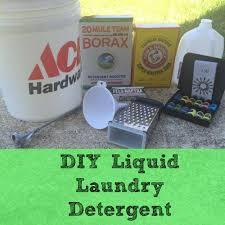 diy liquid laundry detergent menclean