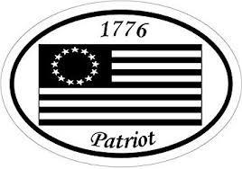 Amazon Com Ion Graphics 1776 Patriot Colonial American Flag Vinyl Window Decal Patriotic Bumper Sticker 1776 Decal American Flag Sticker Made In The Usa Size 4 7 X 3 3 Inch Automotive