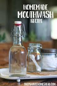 homemade mouthwash recipe the prairie