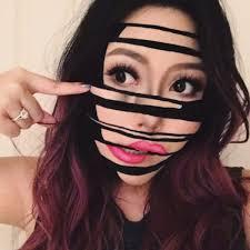 makeup artist creates surreal