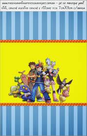 Pokemon Etiquetas Para Candy Bar Para Imprimir Gratis Pokemon