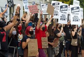 Hundreds of Police Violence Protestors and Counter Protestors Swarm Region;  7 Arrested | Davis Vanguard