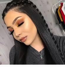 wonderful dark hair brown eye makeup