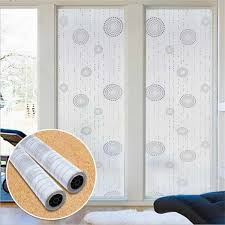 30 45 60 90 cm white frosted window