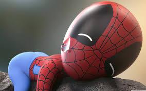baby spider man ultra hd desktop