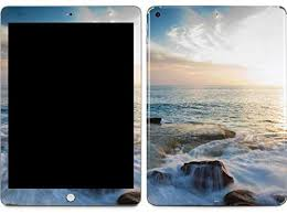 Amazon Com Skinit Decal Tablet Skin Compatible With Ipad 9 7in 2017 Originally Designed Serene Ocean View Design Electronics