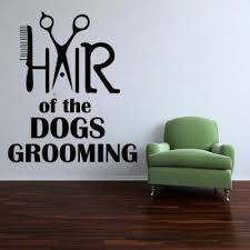 Pin By Hannah Mason On Dog Grooming Logos Vinyl Wall Decal Quote Grooming Salon Salon Decals
