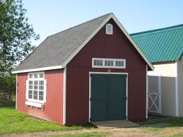 14x24 2 story garden shed wood tex