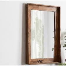 elizabeth vertical wood accent mirror