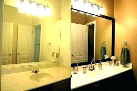 custom made mirrors for bathrooms