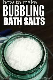 homemade bath salts homemade bath