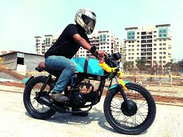 cafe racer hero honda cd 100 modified