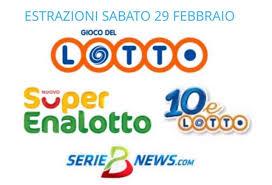 Lotto, SuperEnalotto e 10eLotto 29 febbraio 2020: jackpot a 28,5 ...