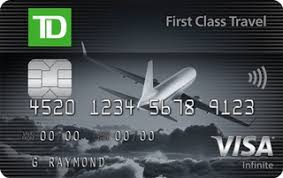 td first cl travel visa infinite