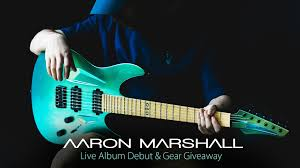 Aaron Marshall (Intervals) - Live Album Debut, Giveaway & Master Class on  Livestream