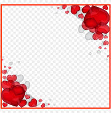 love border frame png image with