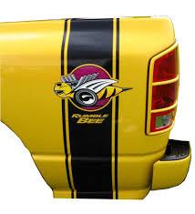 2 Rumble Bee Truck Decals Dodge Ram Free Bonus Bees
