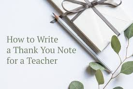 thank you notes for daycare providers and teachers holidappy