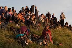 Solstizio d'estate, il tradizionale raduno dei druidi a Stonehenge