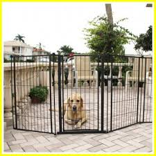 126 Reference Of Outdoor Free Standing Dog Fence In 2020 Outdoor Pet Gate Dog Gate Tall Pet Gate