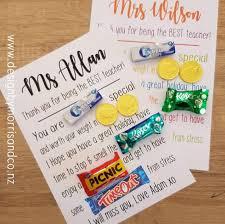 teacher gift ideas nz my kids party