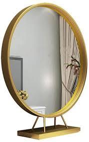 makeup vanity mirror round wall makeup