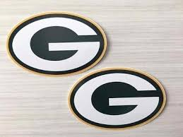 2x Green Bay Packers Car Bumper Laptop Scrapbook Vinyl Die Cut Stickers Decals 4 60 Picclick