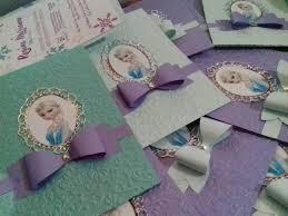 Invitaciones Frozen Princesas 3 Anos Cumpleanos Ninas 28 00 En