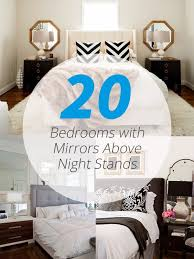 mirrors above night stands