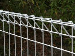 A Part Of Green Brc Fence Is In The Picture Security Fence Welded Wire Fence Fence