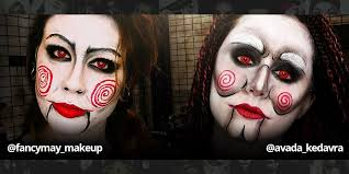 puppet doll style coloured contacts