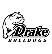 Drake Bulldogs Decal North 49 Decals