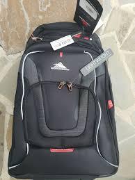 high sierra at3 backpacks graphite