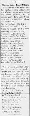 Masonic bodies install officers including Addie Bennett and JG Bennett -  Newspapers.com