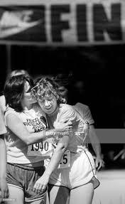 Warm Hug Ends Nuclear Freeze Race Lauri Smith hugs Helen Oesterle ...