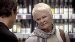 Dame Judi Dench causes havoc - Tracey ...