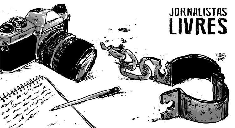 """Resultado de imagem para jornalistas livres"""""""