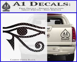 Eye Of Horus Decal Sticker Rah A1 Decals