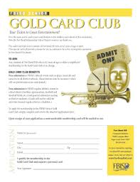 fort bend county gold card fill