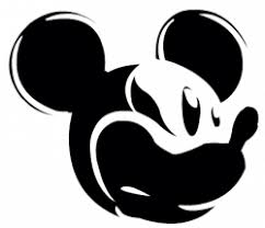 mickey mouse ears silhouette png