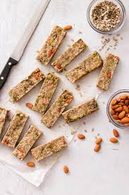 low carb protein bars paleo option