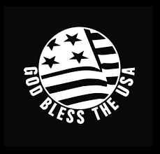 God Bless America Decal Window Decal Sticker Custom Sticker Shop