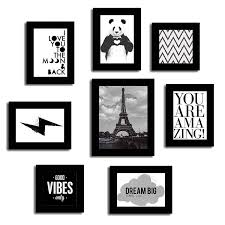 painting mantra set of quotes mix photo frames theme wall quotes