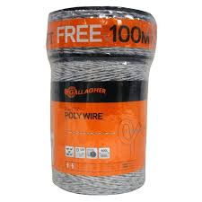 Gallagher Poly Wire Roll 1 320 300 Free Combo Electric Fencing Fencing Farm Ranch