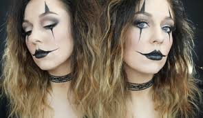 jester clown halloween makeup tutorial